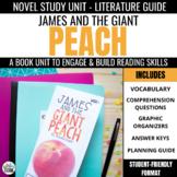 James & the Giant Peach Novel Study Unit