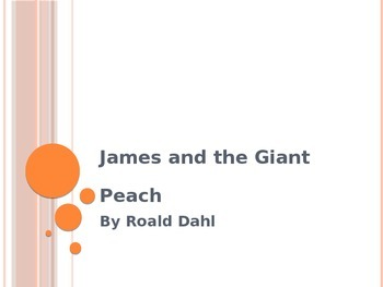 James and the Giant Peach Vocabulary