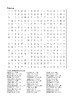 James and the Giant Peach - Word Search Chapters 11 - 13