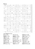 James and the Giant Peach - Word Search Chapters 28 - 31