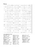 James and the Giant Peach - Word Search Chapters 7 - 10