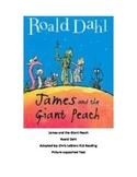 James and the Giant Peach - adapted book picture supported text summary