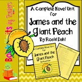 James and the Giant Peach by Roald Dahl Book Unit
