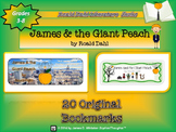 James and the Giant Peach by Roald Dahl Bookmarks