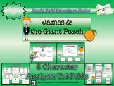 James and the Giant Peach by Roald Dahl Character Analysis Tri-Folds
