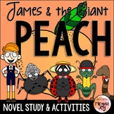 James and the Giant Peach by Roald Dahl Novel Study