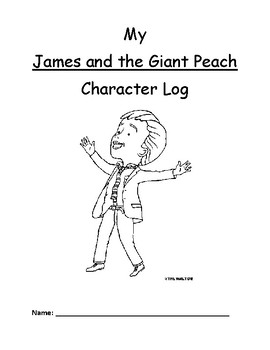 James and the Giant Peach -- character booklet