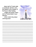 James and the Giant Peach writing prompt