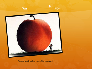 James and the Giant pEach Ch 1-6 Vocal PPT