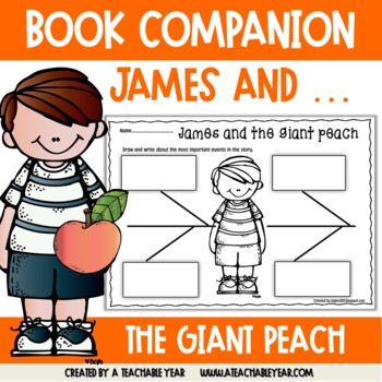 James and the Giant Peach- Book Companion