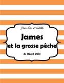 James et la grosse pêche Board Game Project - Novel Study