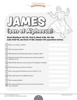 James (son of Alphaeus): The Disciple Activity Book