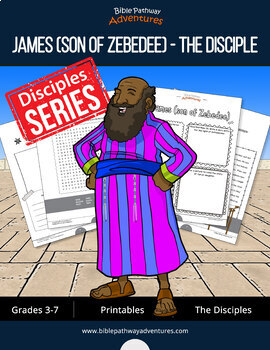 James (son of Zebedee): The Disciple Activity Book