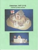 Jamestown 1607 settlement model (3-5)