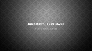 Jamestown (1610-1628)