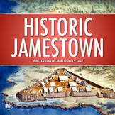 JAMESTOWN HISTORY MINI UNIT: Webquest, Video Questions, Ph