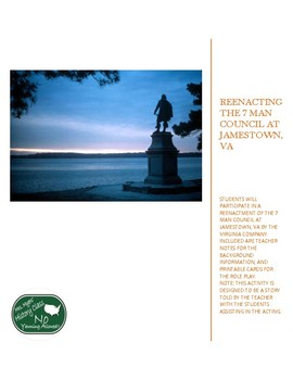 Jamestown 7 Man Council Re-enactment