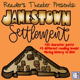 Jamestown: A Reader's Theater (with differentiated parts!)