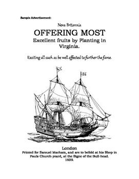 Jamestown Advertisement