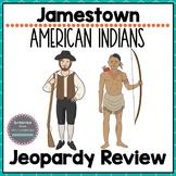 Virginia Studies Jamestown Virginia Indians Review Game VS.3 & 2d-g