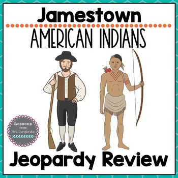 Virginia Studies Jamestown Virginia Indians Review Game VS.3 & 2d-g