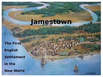 Jamestown: America's First Permanent English Settlement - REVISED!!!