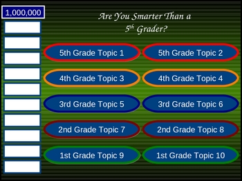 Jamestown - Are You Smarter Than A 5th Grader?