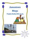Jamestown Bingo: Virginia Studies SOLs 3a-3g