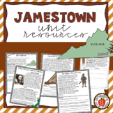 Jamestown Unit - Activities & Worksheets