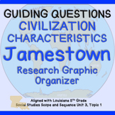 Jamestown: Characteristics of Civilization Guiding Questio