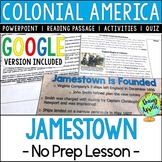 Jamestown, Colonial America; Distance Learning; Digital Learning