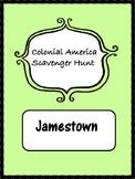 Jamestown Colonial Scavenger Hunt for Upper Elementary Soc