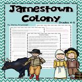 Jamestown Colony 1607-1624