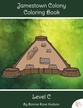 Jamestown Colony Coloring Book-Level C