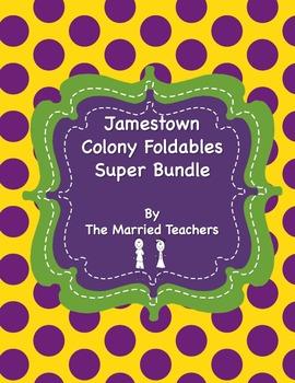 Jamestown Colony Foldables Super Bundle