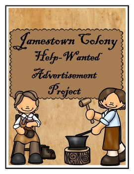 Jamestown Colony Help-Wanted Advertisement Activity
