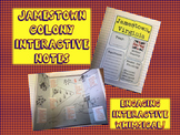 Jamestown Colony Interactive Notes