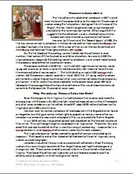 Jamestown Colony - Lesson 10: The Vital Role of Women (DBQ)