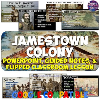 Jamestown Colony PowerPoint Lesson