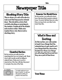 Jamestown Colony Newspaper Project