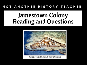 Jamestown Colony reading and questions