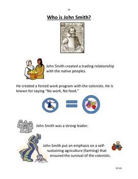 Jamestown Content Folder VA SOL Virginia Studies 4.3