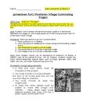 Jamestown DBQ Culminating Project (Diorama, Tinkercad, Google Draw, Poster)