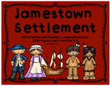 Jamestown: Differentiated Readers, Comprehension, STEM Pop