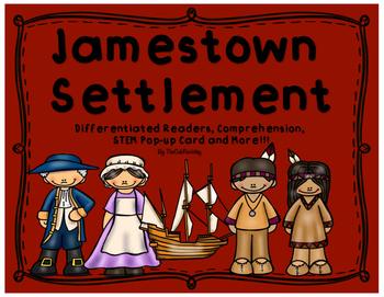 Jamestown: Differentiated Readers, Comprehension, STEM Pop