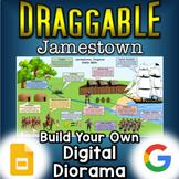 Jamestown - Digital Draggable Diorama