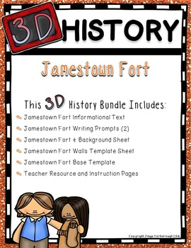 Jamestown Fort 3D History