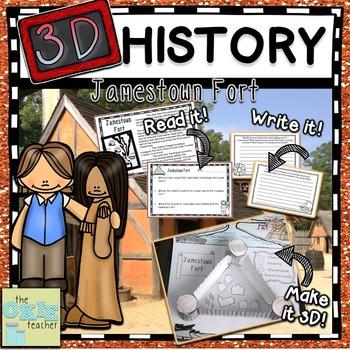 Jamestown Fort 3D History