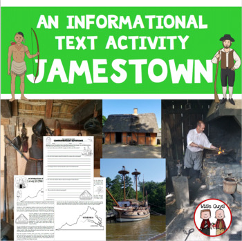 Jamestown Fort Informational Text Activity