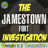 Jamestown Fort Investigation!  Students use technology to investigate the Fort!